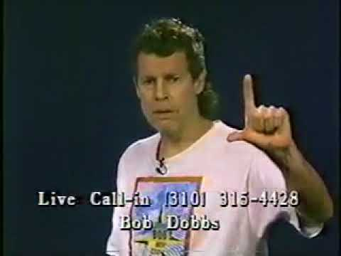 """Bob Dobbs Appears On """"Best Of Beyonds: Access Dobbs"""" On Century Communications Cable Access"""