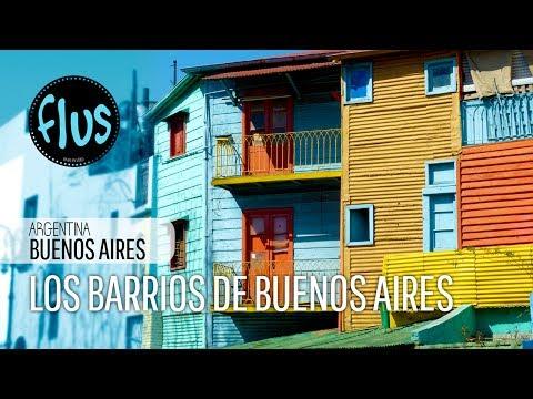 Los barrios de Buenos Aires, Argentina - Flus Viajes