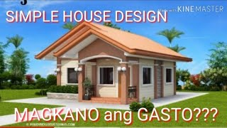 Ofw Small House Design With Contractor/magkano Ang Gasto??? Step By Step/part 1/vlog#5