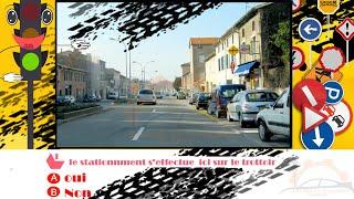 Examen code de la route France(8) Permis de conduire france 2017 HD Série 8