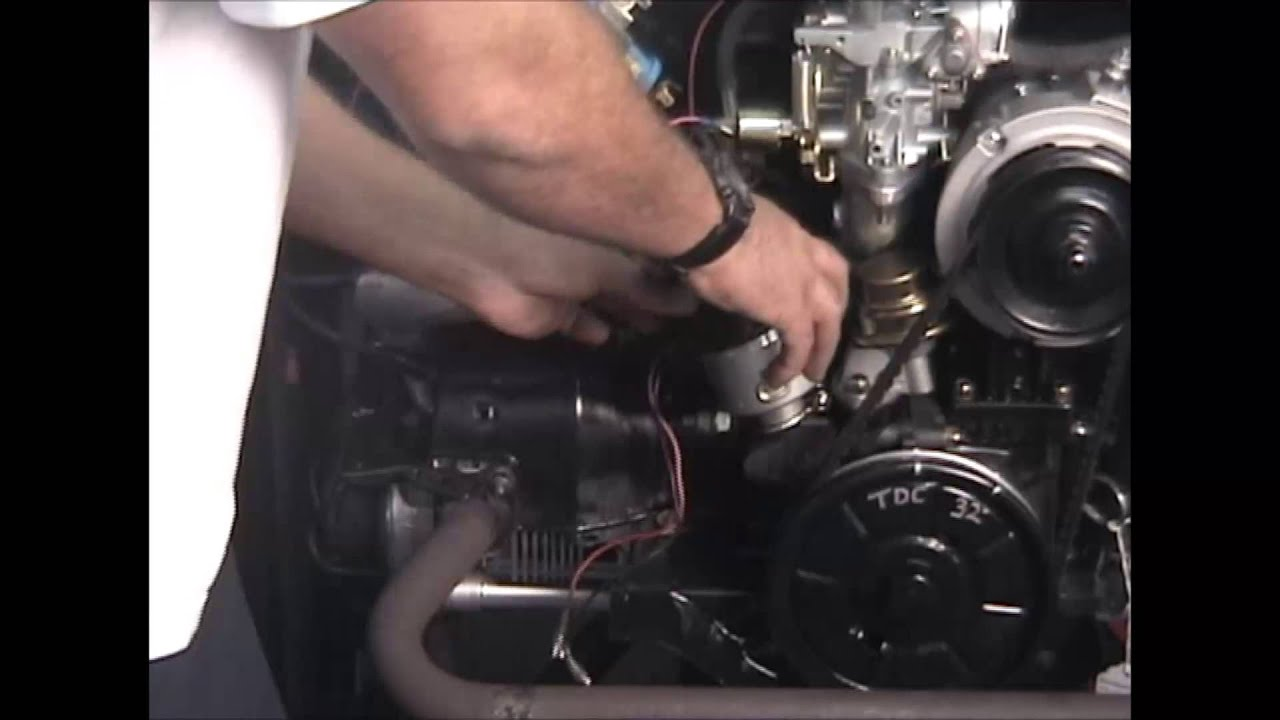 Change 009 Distributor With Points To Electronic Youtube Air Cooled Vw Ignition Coil Wiring Diagram