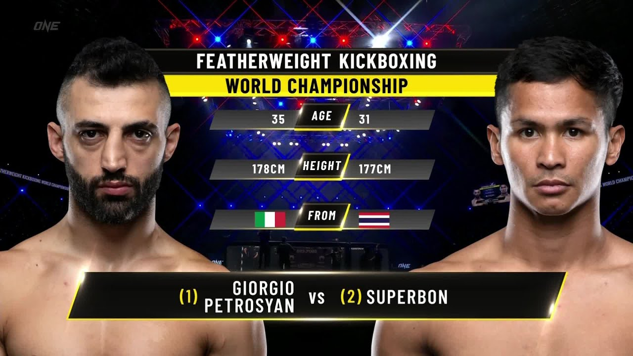 Download Giorgio Petrosyan vs. Superbon   ONE Championship Full Fight