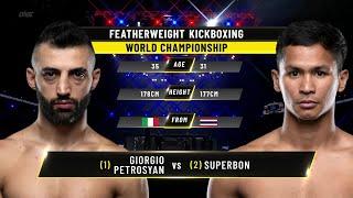 Giorgio Petrosyan vs. Superbon | ONE Championship Full Fight