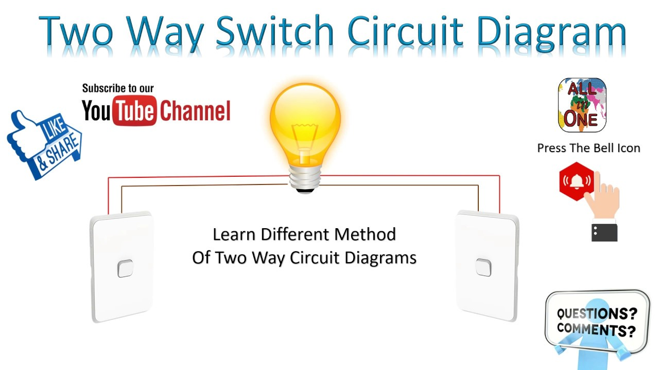 Two Way Switch Circuit Diagram Explanation