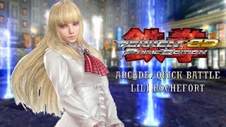 Tekken 3D: Prime Edition - Lili Rochefort ~ Arcade Mode/Quick Battle