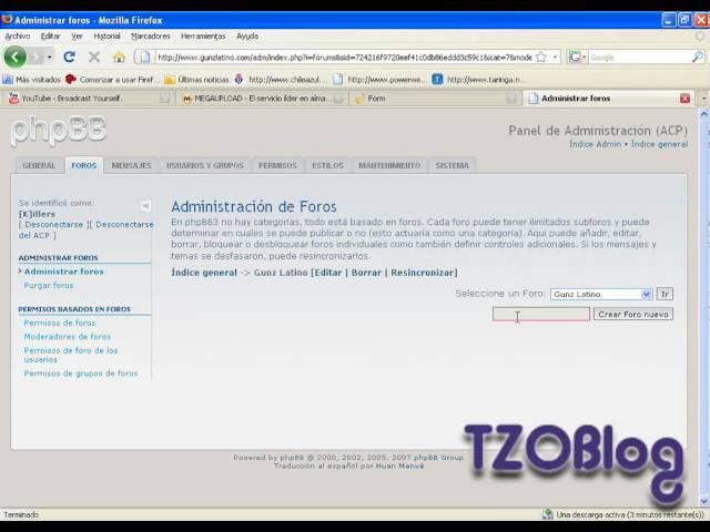 Diversos Tutoriales (phpBB3) - Info - Taringa!