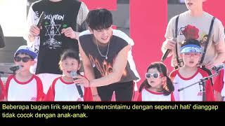 Netizen Puji Sikap B I iKON saat Nyanyikan Lagu Love Scenario Bareng Anak anak