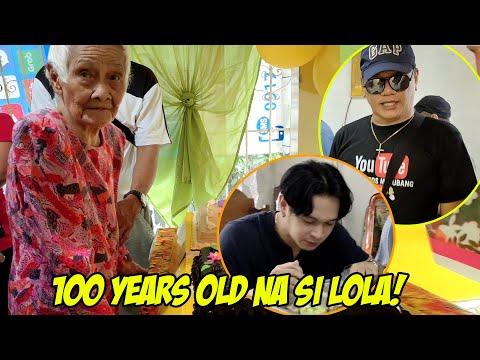 WOW! NAINVITE KAMI NILA KALINGAP RAB SA BDAYHAN! 100YEARS OLD NA SI LOLA! -  (2020)