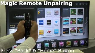 Magic Remote Pairing with LG TV How to