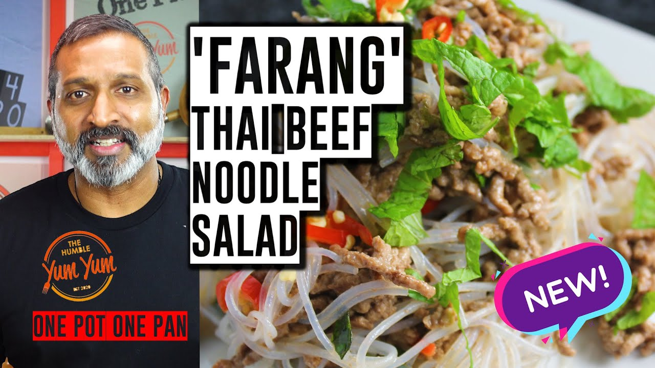 'FARANG' THAI BEEF SALAD! Feed 4 for under $20! ONE POT - ONE PAN