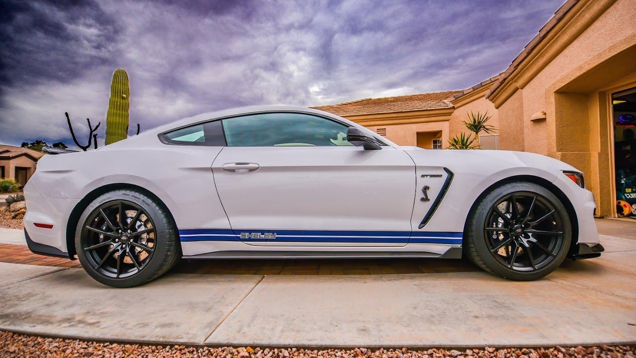 Shelby gt350 side stripes by benjamin roman bemaro sf