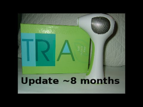 Tria Laser Hair Removal Update ~ 8 months