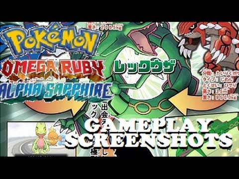 Pokemon Omega Ruby & Alpha Sapphire: News - Gameplay ...