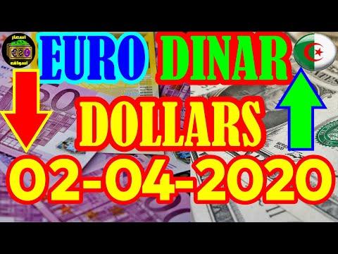 سعر اليورو الدولار 02-04-2020 change euro