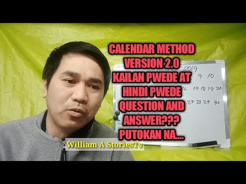 calendar-method-of-contraception- -how-to-prevent-pregnancy- -araw-na-pwedeng-iputok
