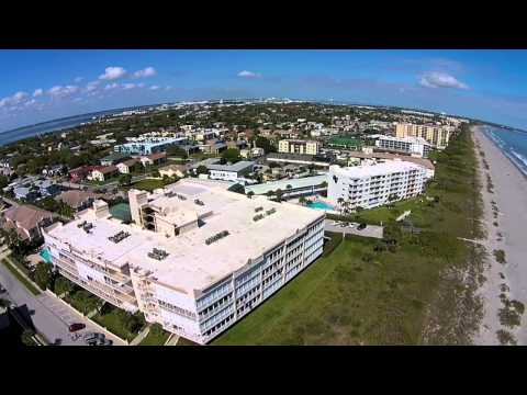 Cocoa Beach Florida in February   Drone Video Tour, Surfing, Fishing Boating