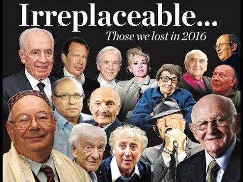 Irreplaceable: Jewish News remembers those we lost in 2016