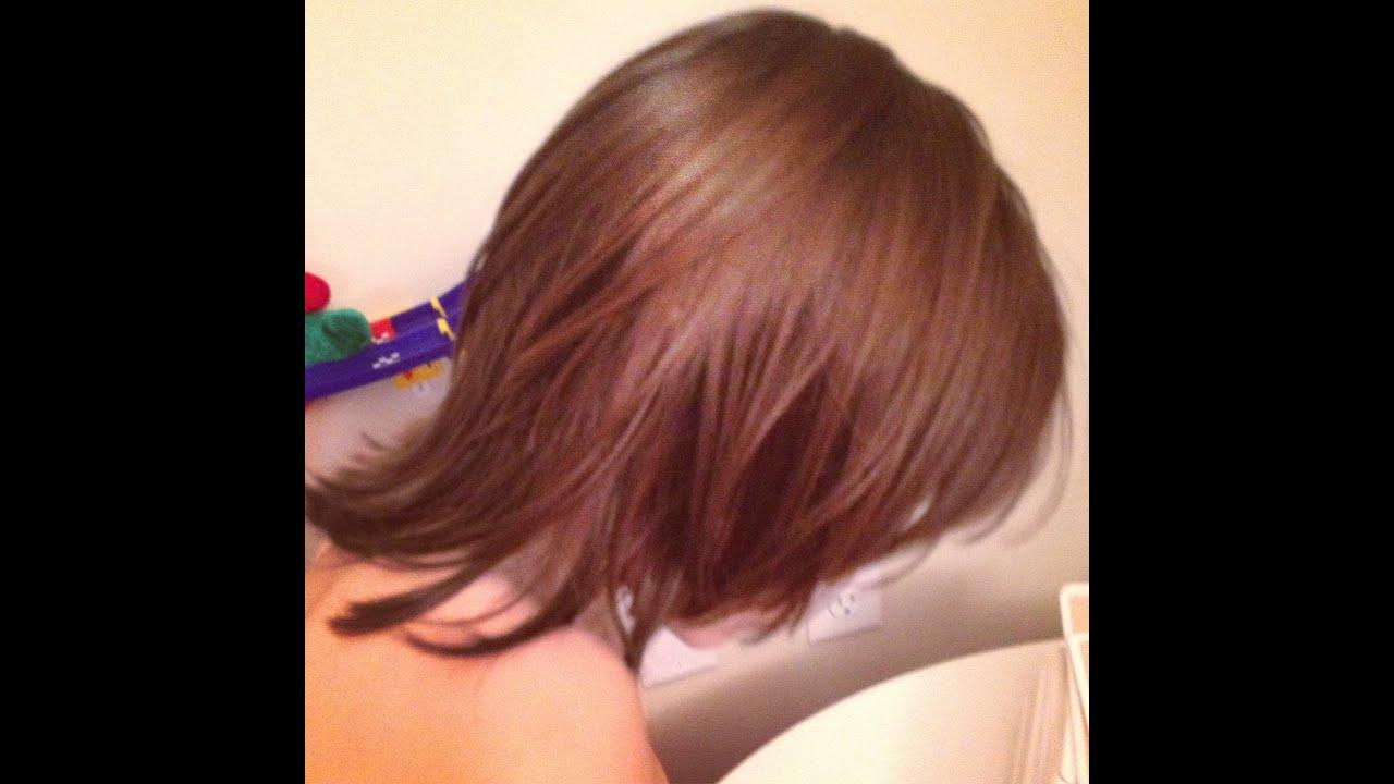 How To Layered Medium Length Hair Cut