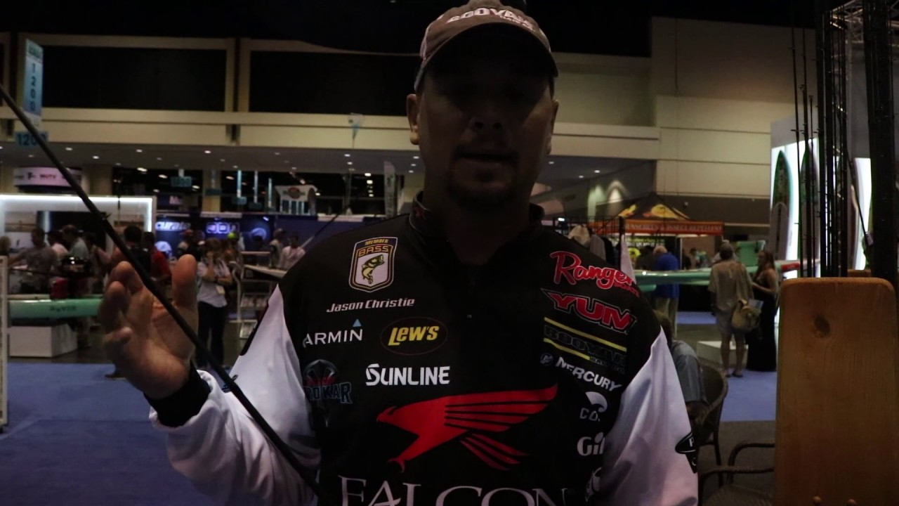 Jason Christie Talks About The Right Rod For Fishing A Frog | 2017 ICast
