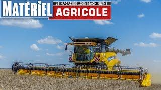 Presentation New Holland CR10.90 - World Biggest Combine Harvester - 652 HP by Matériel Agricole