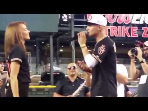 Luis Coronel & Leslie Grace LIVE at Chase Field
