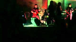BLOOD DRESS -  cristal mountain (cover of DEATH)  At live in Escalera Al cielo resto bar 31-07-2009