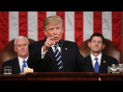 BREAKING: President Donald Trump State of the Union Address from Washington DC 1-30-18