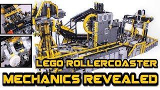 HUGE technic figure rollercoaster --how it works--