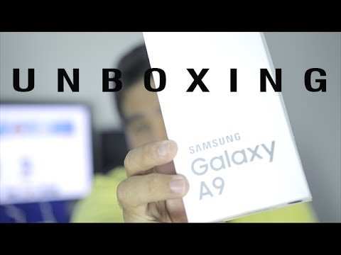 UNBOXING SAMSUNG Galaxy A9 2016 ( SM-A910F/DS )