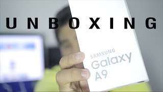 unboxing samsung galaxy a9 2016 sm a910f ds