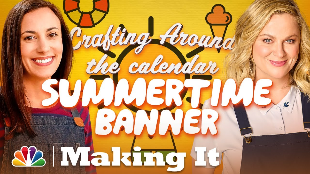 Enjoy Some Summer Fun with a DIY Party Banner - Making It