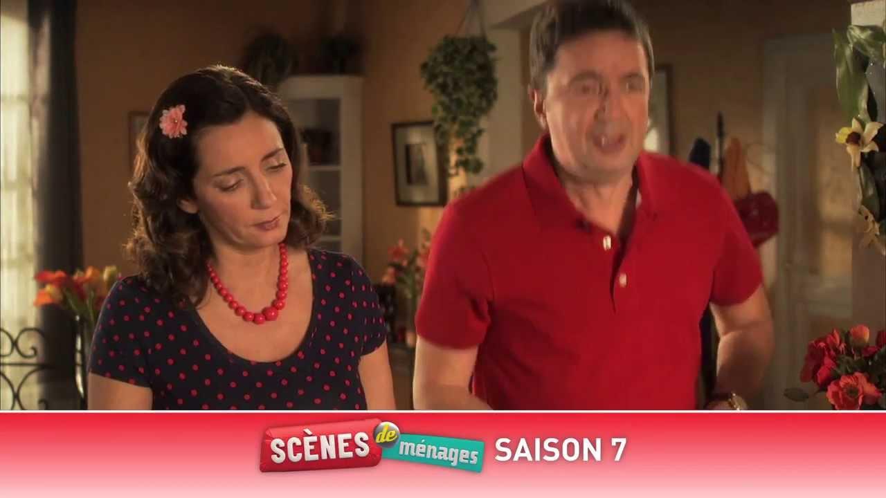 Sc nes de m nages saison 7 avec m6 mobile youtube - Scene de menage saison 14 ...