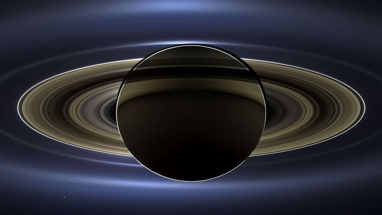 Saturn - NASA Image Reveals Detail of Moons, Rings ...