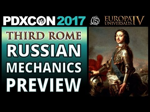 Europa Universalis 4: Third Rome Russian Mechanics Preview