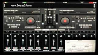 Beamz DJ Laser Controller Audio Sample DJ Tutorial Training For Virtual DJ (DJT4) USA CA AZ BEAMs