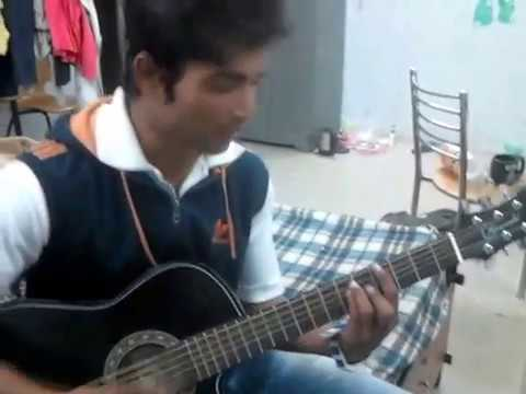 nagpuri song playedwith guitar by hemant