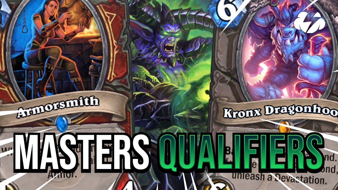 HOW TO WIN A MASTERS QUALIFIER | Tempo Strategy Hearthstone [Ashes of Outland]
