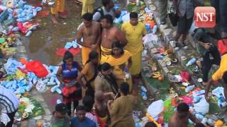 Thaipusam celebration in Batu Caves