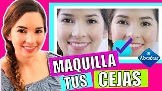 Video ¿Cómo maquillarse las cejas? Nanny by Nosotras download MP3, 3GP, MP4, WEBM, AVI, FLV Januari 2018