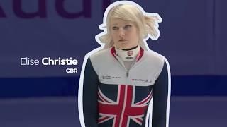 Elise Christie (GBR) wins in Seoul