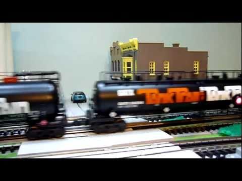 Grand Trunk Western GP38-2 pulls GATX Tank Train