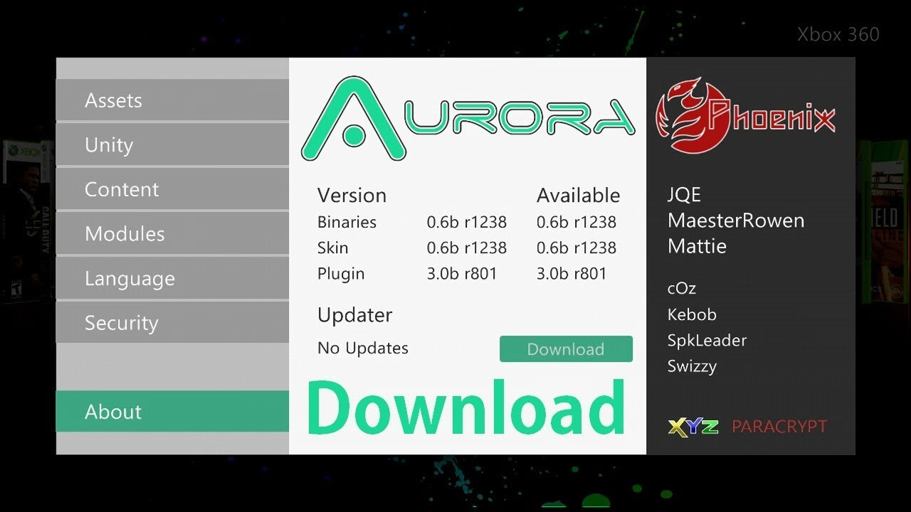 Xbox 360 Aurora 0 6b Custom Dashboard Jtag/Rgh + Download