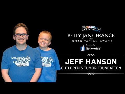 Jeff Hanson - 2015 Betty Jane France Humanitarian Award presented by Nationwide Finalist