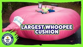 They made a giant whoopee cushion! - Meet The Record Breakers