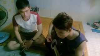 guitar cover - Nỗi lòng người tha hương (Duy Mạnh) by tiến vũ ft lee gon