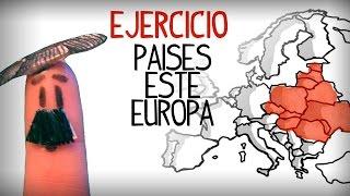 Test, exercice de les pays d'Europe en espagnol, europe de l'est