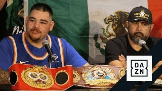 Andy Ruiz Jr.'s Emotional Post-Fight Press Conference