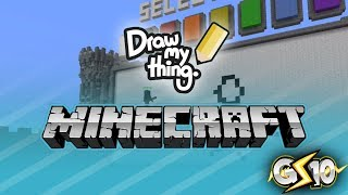 Minecraft Draw My Thing Mini-Game w/ Graser & Friends!