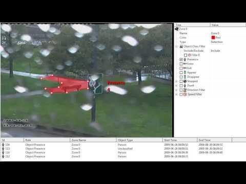 GXi Imbedded Intelligence - Rules   Presence Raining at a park