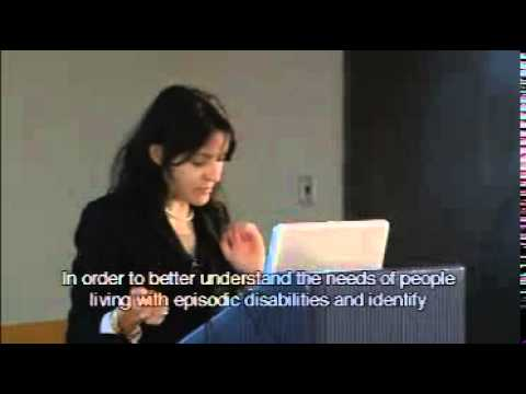 Understanding Episodic Disabilities and Employment  (part 1 of 3)